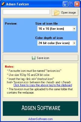 Cara Membuat Favicon pada Blog atau Website | Artikel Gratis dan Aneka ...