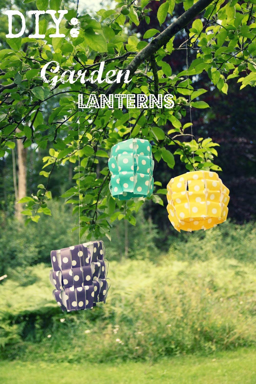 Diy linternas de jardin manualidades para pirmavera un for Manualidades para jardin