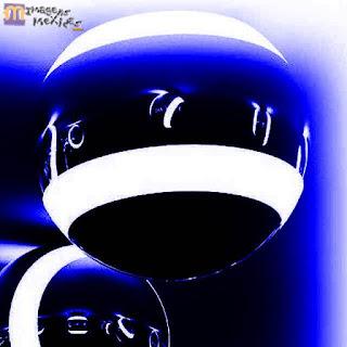 Ilusão de óptica em bolas