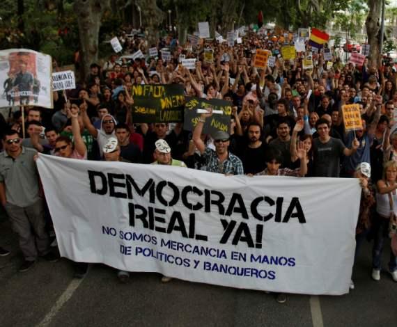 ¡Democracia real, Ya!
