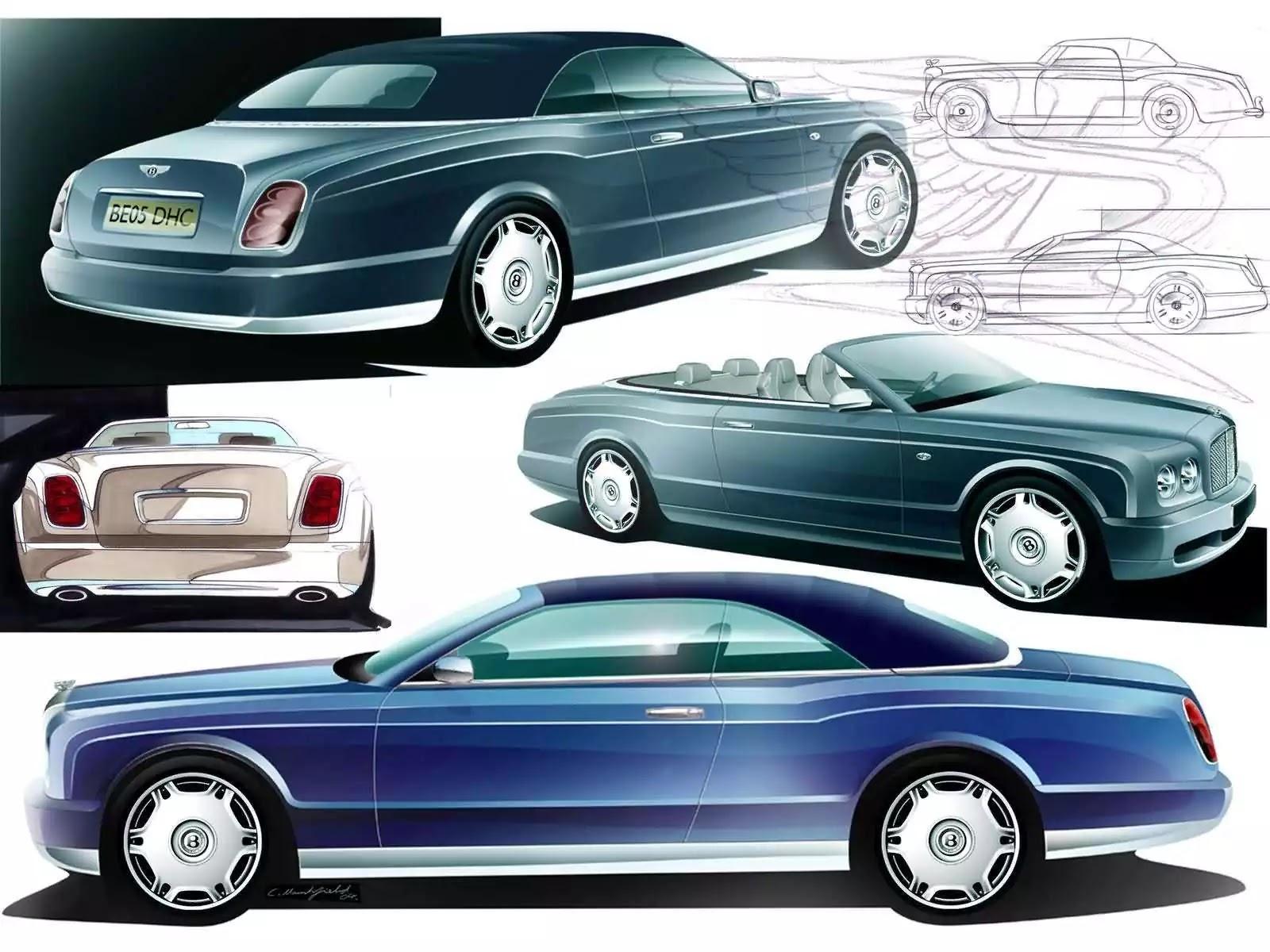 Hình ảnh xe ô tô Bentley Arnage Drophead Coupe 2005 & nội ngoại thất