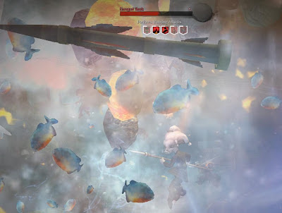 Guild Wars 2 underwater combat enraged shark