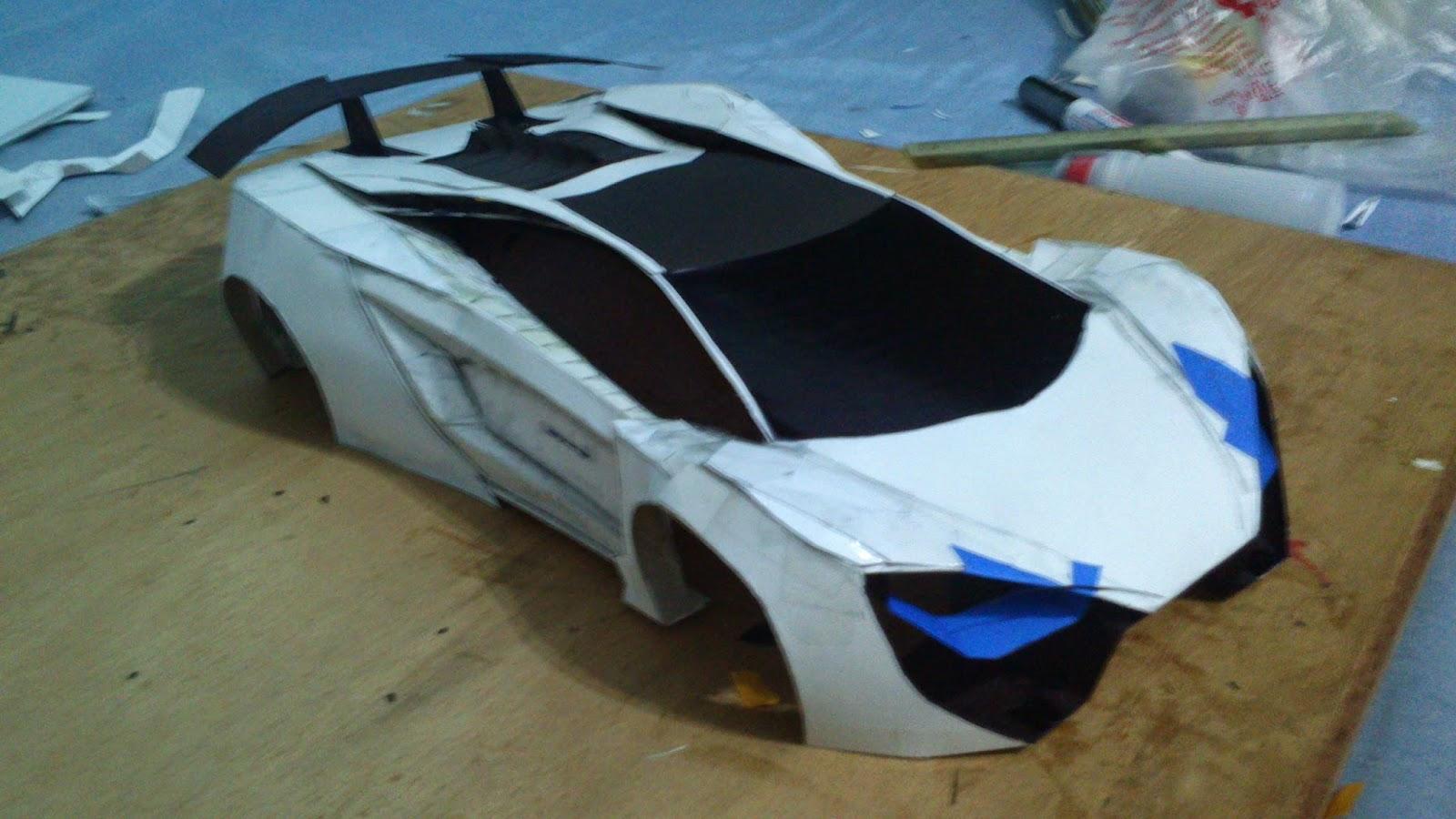 Papercraft Lamborghini Gallardo