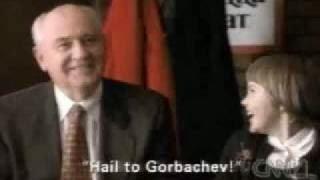 Горбачев реклама пиццы