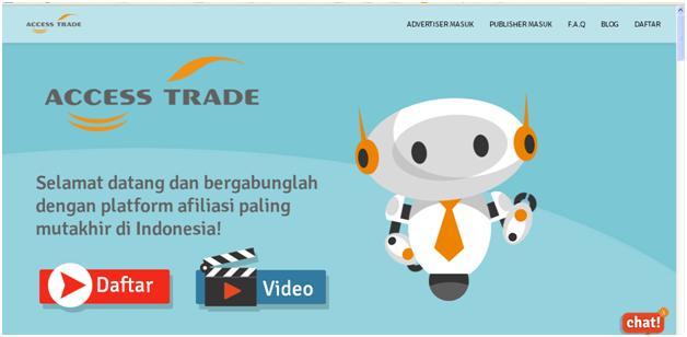 Bisnis Affliliate Terpercaya dari Indonesia – ACCESS TRADE