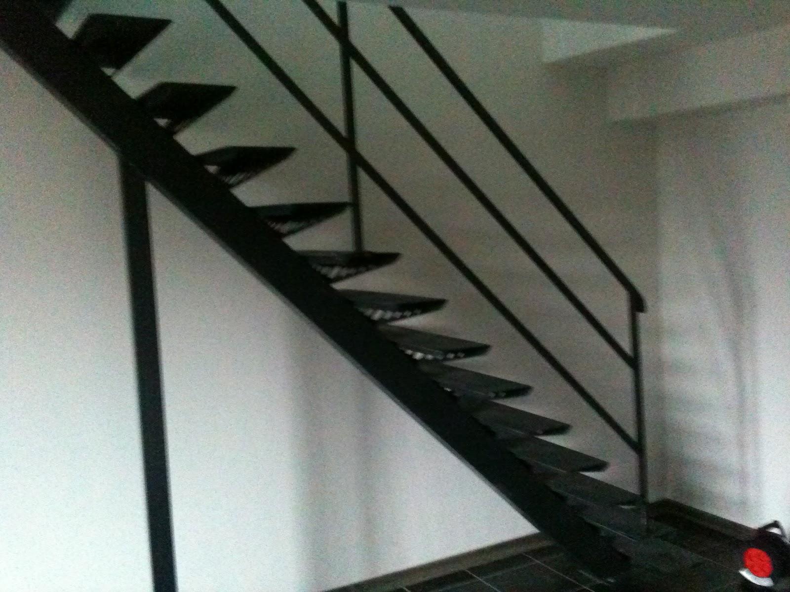 Toto r alisation escalier limon central - Escalier a limon central en fer ...
