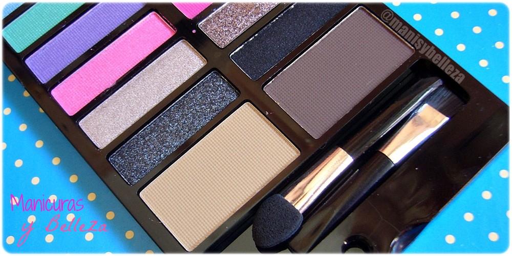 Paleta de sombras de ojos y cejas Awesome - Sticks & Stones de MakeUp Revolution   Awesome Eyeshadow and Eyebrow Palette (Maquillalia)