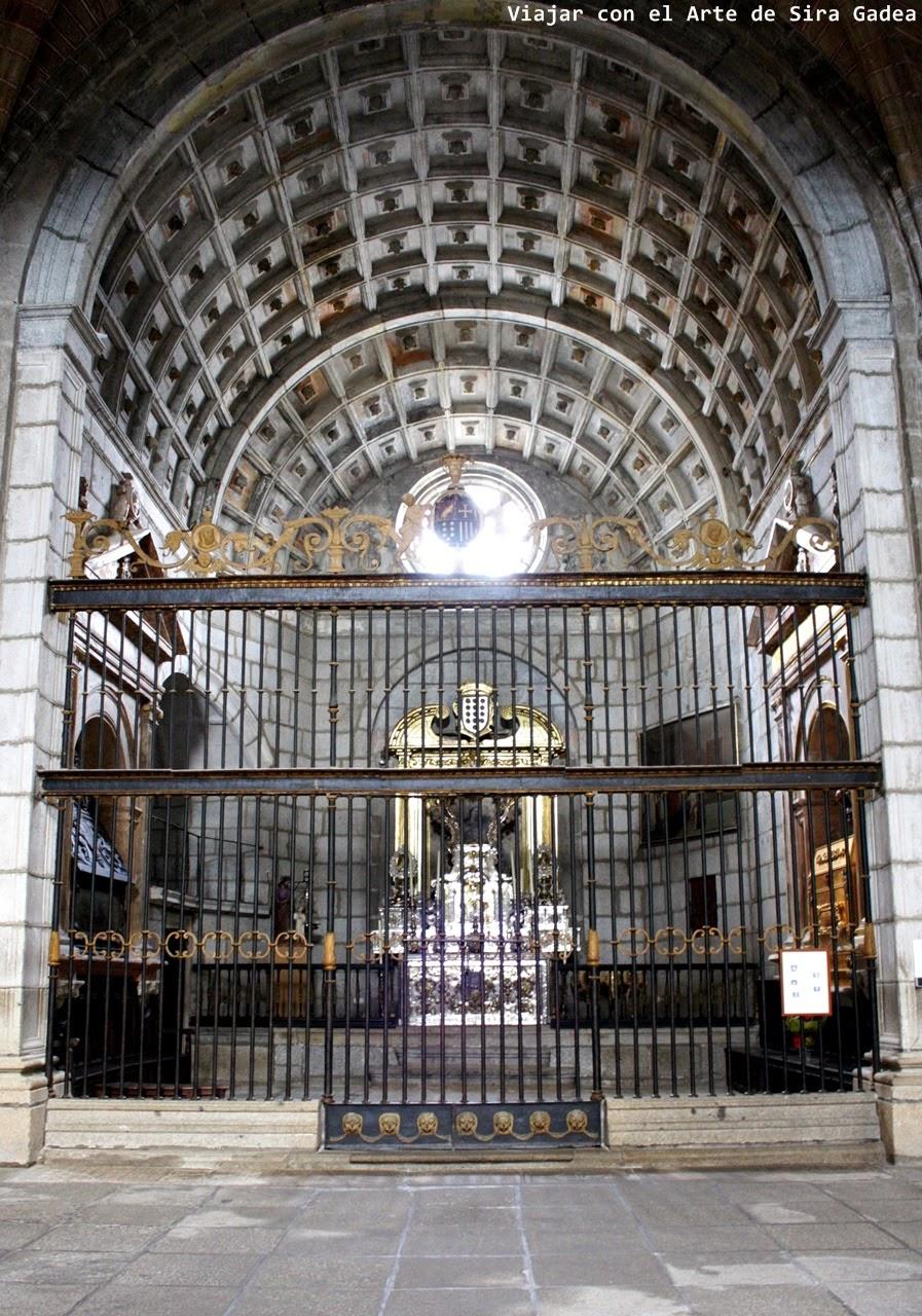 Capilla Concepción catedral Ávila