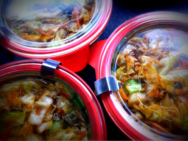 Flour Water Dirt & Rain: Quick Kimchi