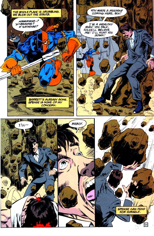 Deathstroke (1991) Issue #25 #30 - English 25