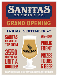 Sanitas Brewing Grand Opening