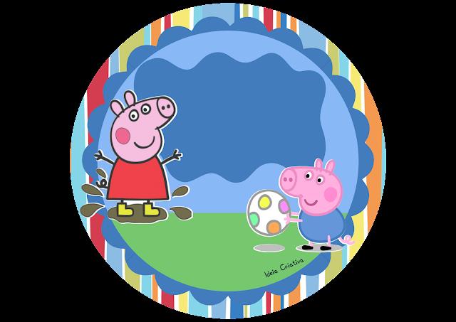 Plaquinha para Porta Volta às Aulas Peppa Pig