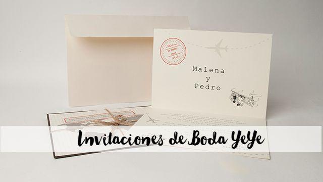 invitaciones de Boda lowcost y originales  yeye blog de boda retales de bodas