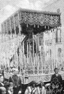 nio El Cachorro hermanas Antúnez 1884 Virgen Dolores Veracruz Utrera