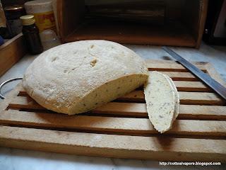Pane (tentativo di) di semola di grano duro e allattamento!