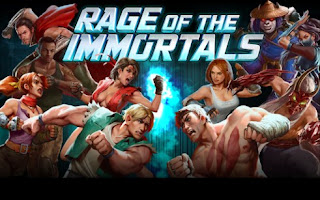 Screenshots of the Rage of the Immortals for Android tablet, phone.