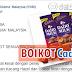 Kenyataan Media PUM: Gesa Boikot Semua Produk Keluaran Cadbury