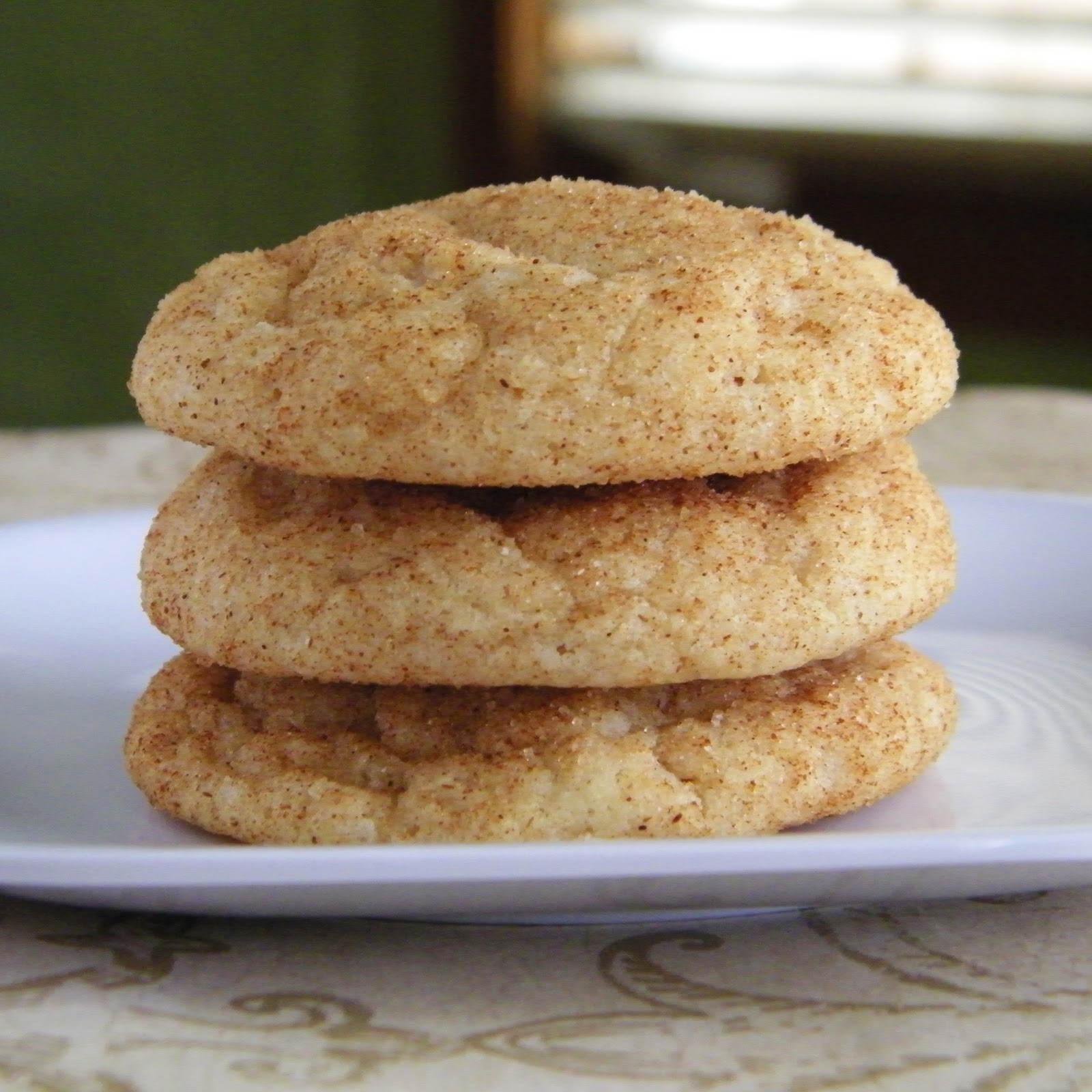 Alphabet Soup: Thick and Chewy Snickerdoodles