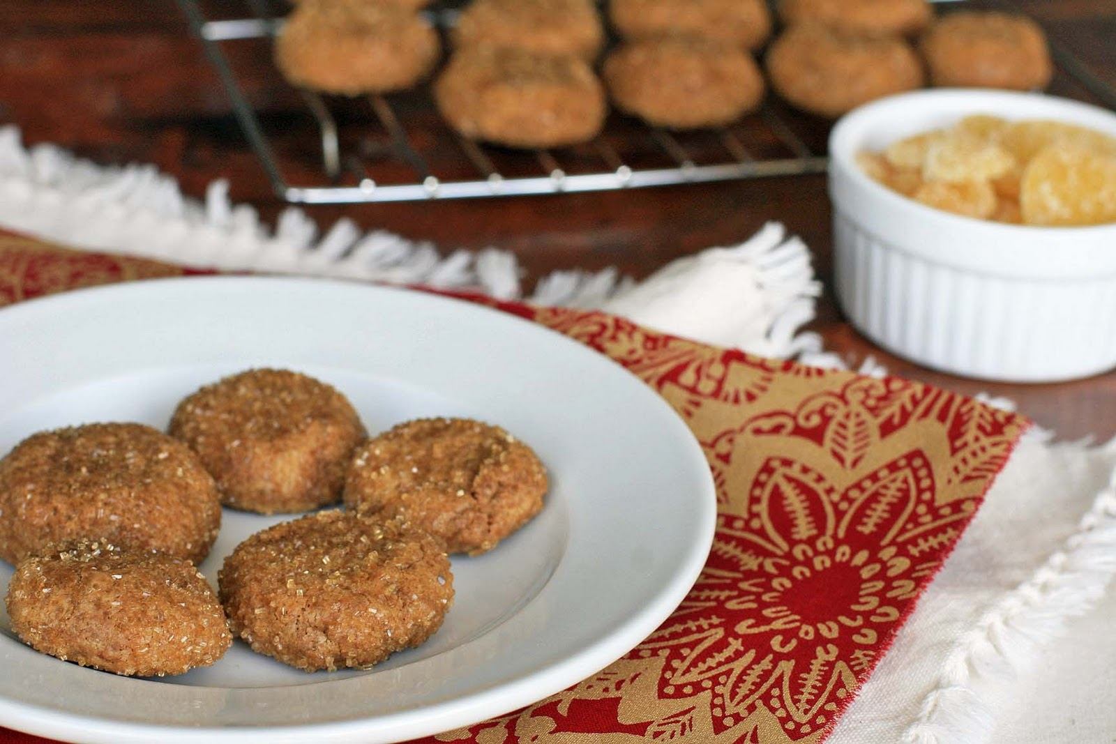 Gluten-Free Triple Ginger Cookies | Girl Cooks World