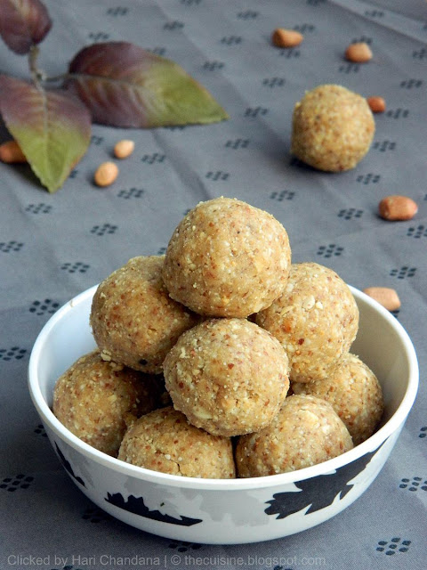 peanut laddu recipe, how to make peanut laddu recipe,
