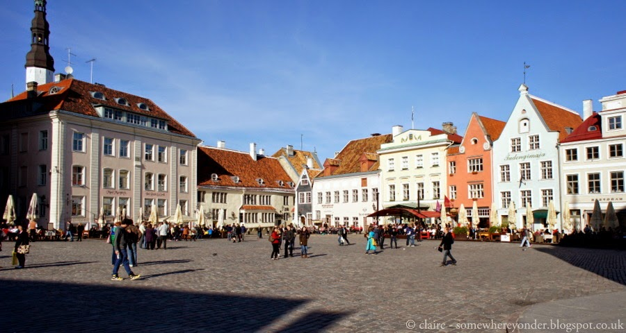 Town Hall Square, Old Town Tallinn - Estonia