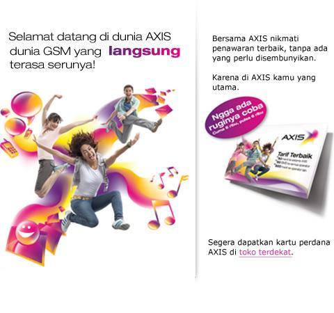 Trik Internet Gratis Axis 26 Juni 2012 Terbaru >> Informasi Terbaru