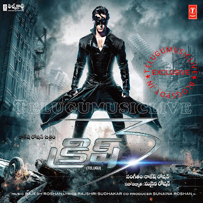 Krrish 3 (2013) Telugu Movie Mp3 Songs Free Download