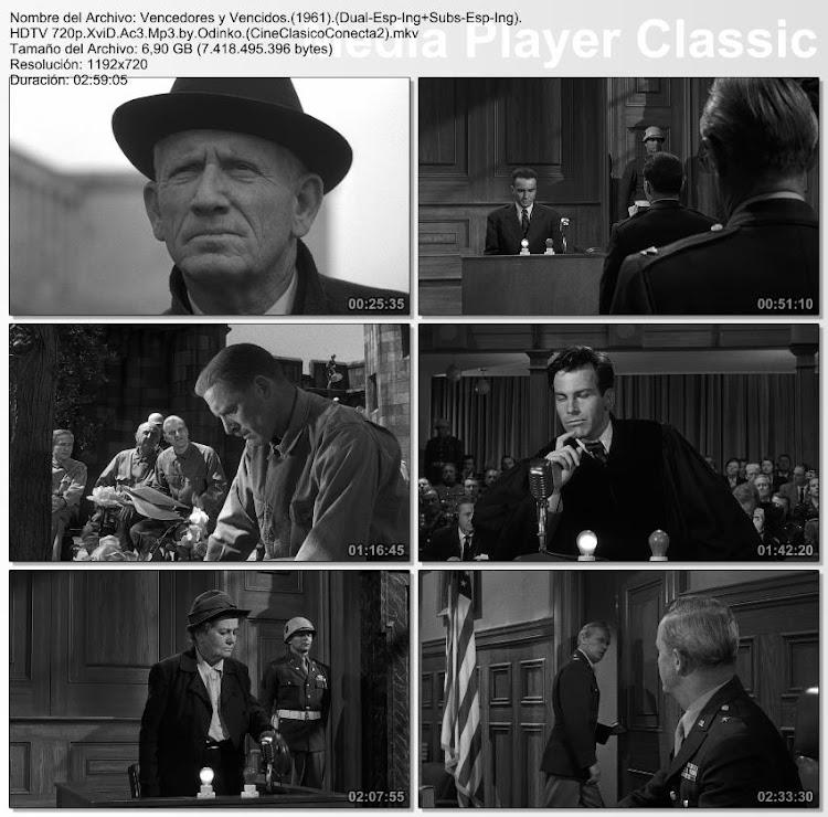 Imagenes de la película; Vencedores o vencidos (El juicio de Nuremberg) | 1961