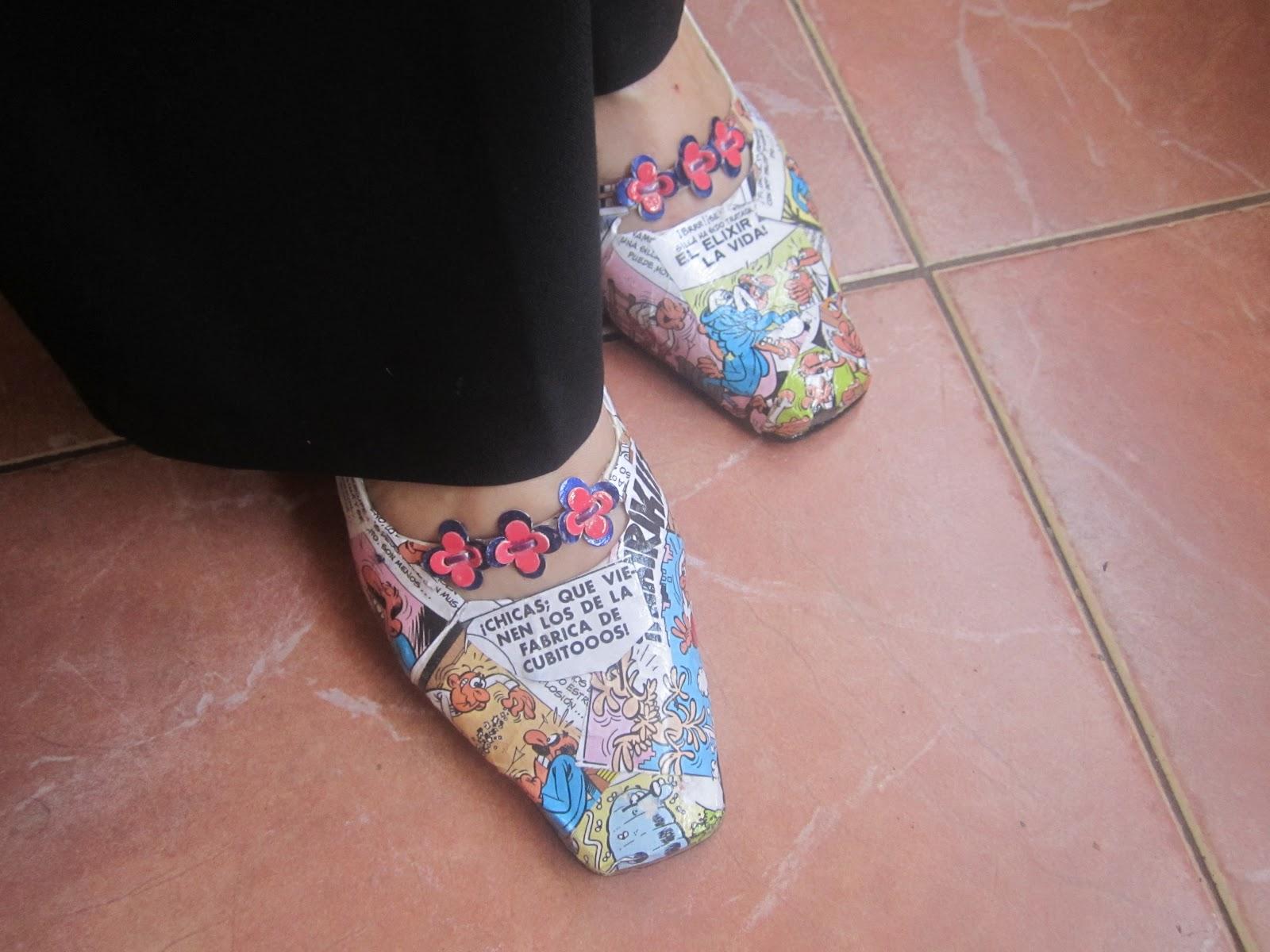 Y con vaqueros quedan genial - Ideas para decorar zapatos de nina ...