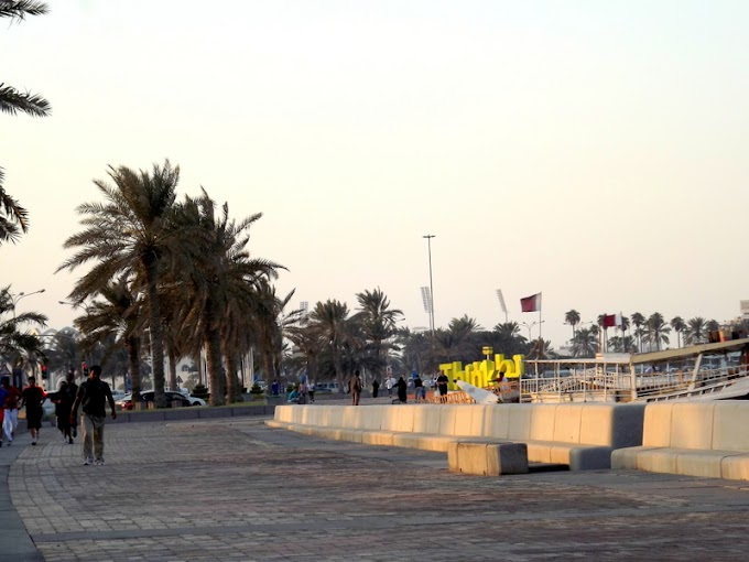 Walk or jog along the Corniche