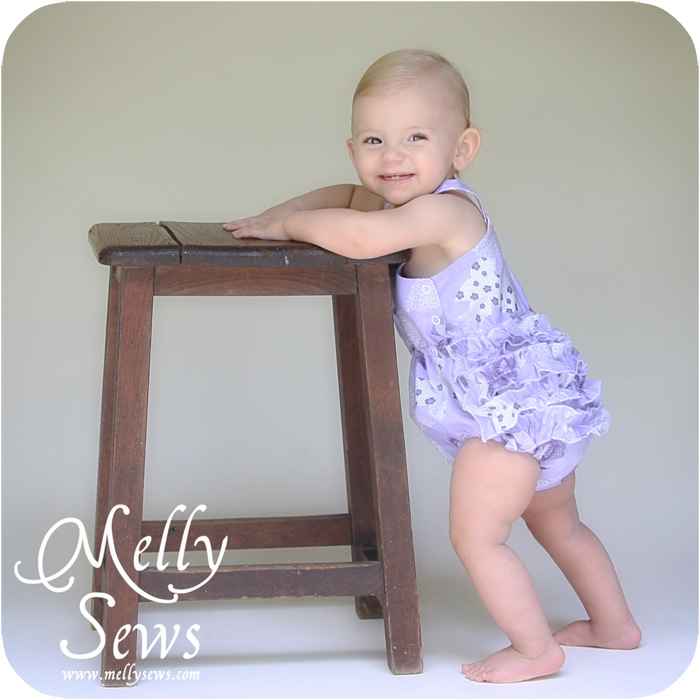 Ruffle Romper Pattern - Melly Sews