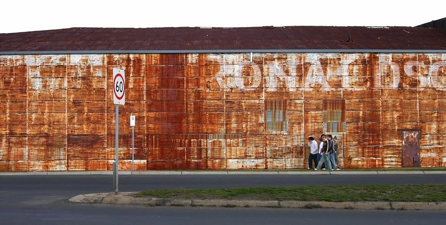 Ronaldson's Wall, Ballarat.