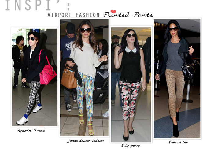 She Is In Fashion Inspiration Celebrity Airport Fashion Style