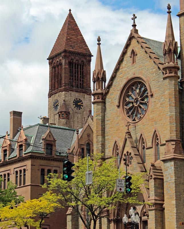 Wcs visiting american churches the tall bell tower is not part of the church thats albany city hall sciox Gallery