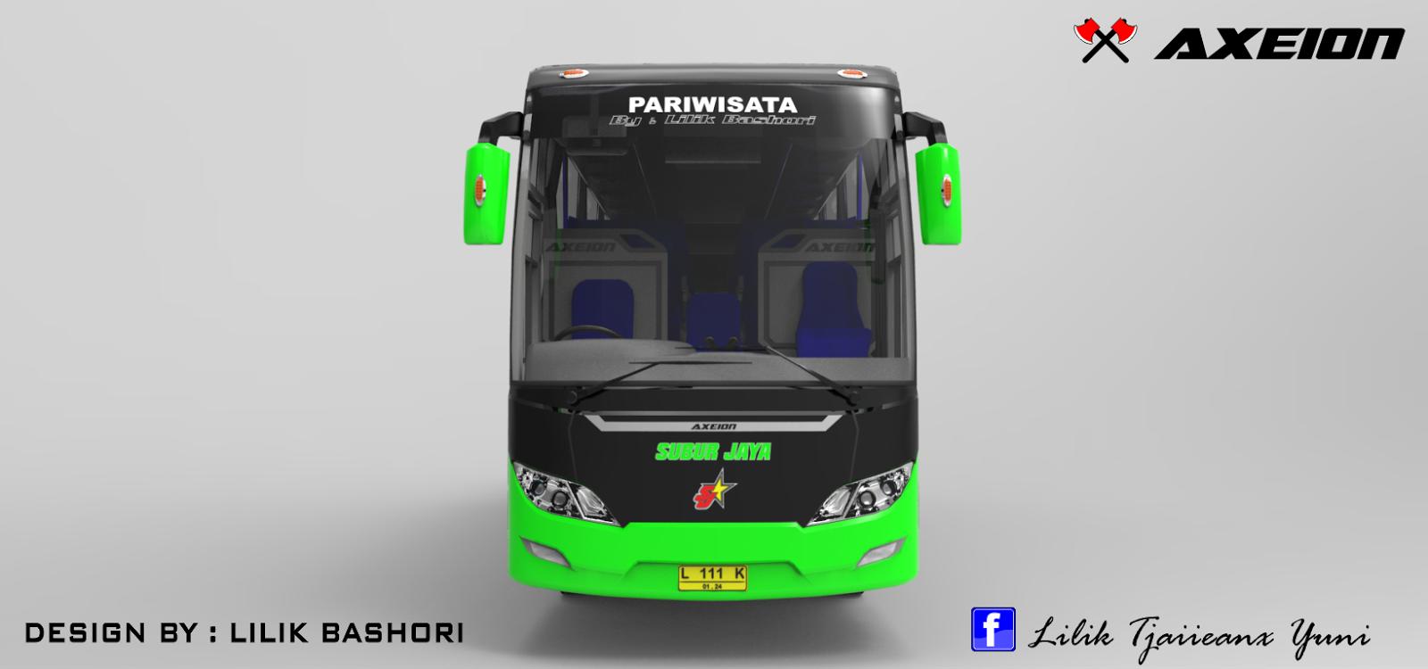 Berikut ini adalah gambar lain dari desain bus AXEION :