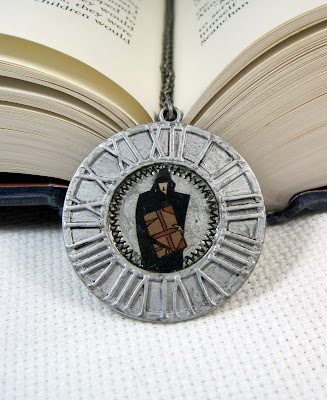 Comic Book Sandman Pendant