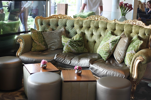 Opulent interior