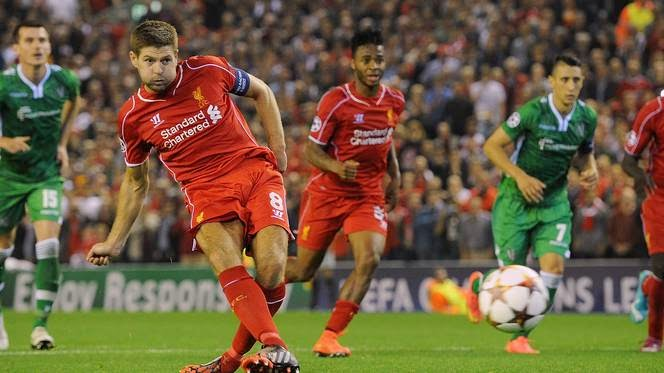 Liverpool 2 - 1 Ludogorets # All Goals