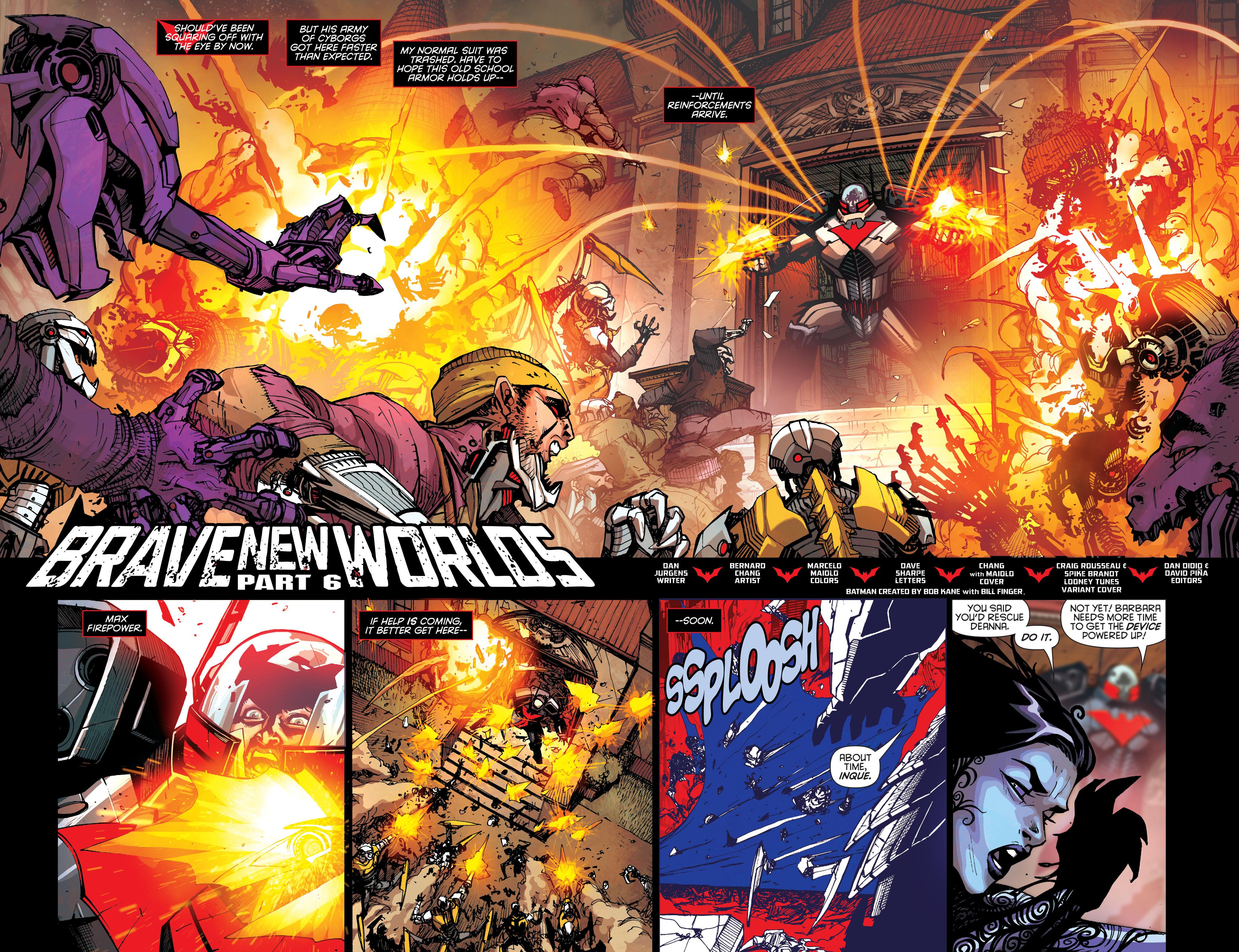 Batman Beyond (2015) Issue #6 #6 - English 5
