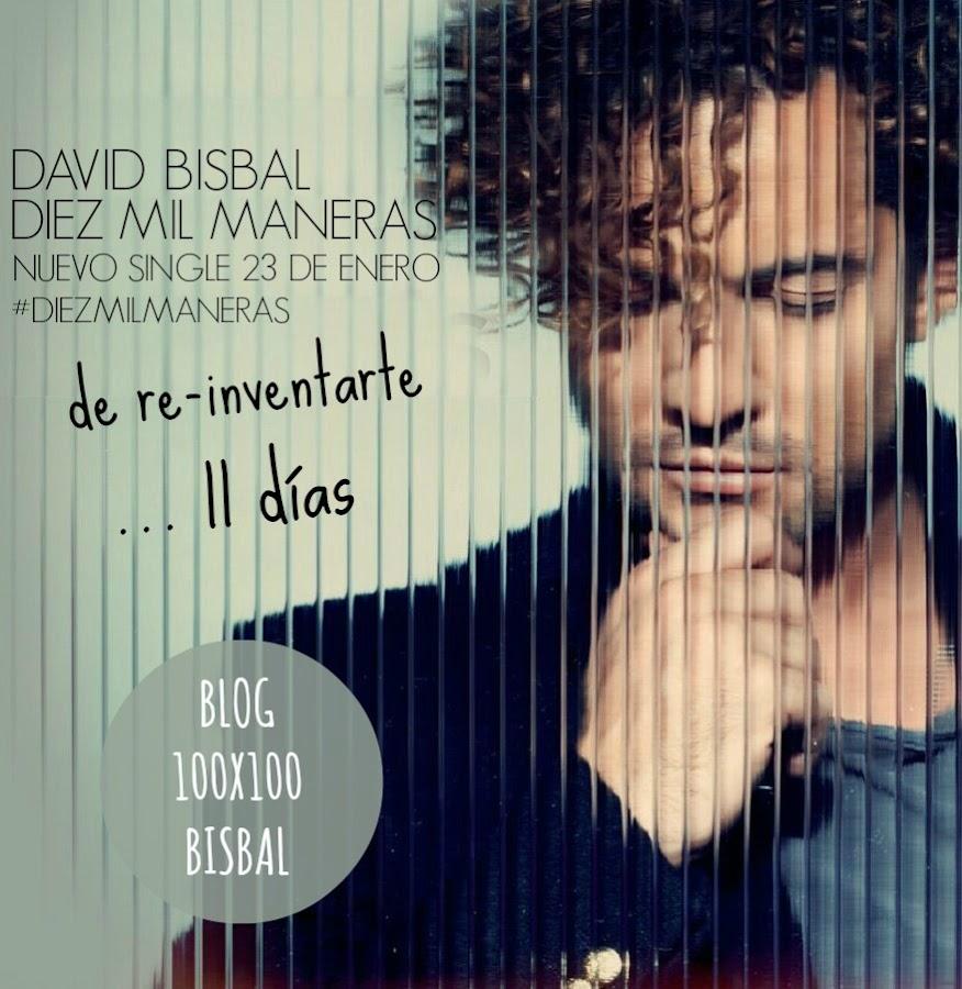 ... Trasera de David Bisbal - Diez Mil Maneras (Cd Single) - Portada