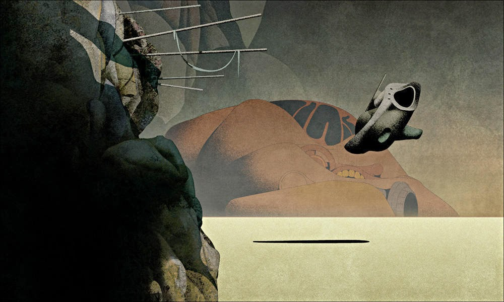 Dan-McPharlin pintura ciencia ficción