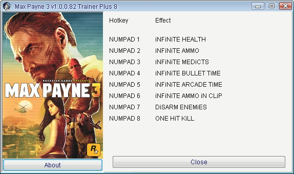 Max Payne 2 the Fall of Max Payne 5 Trainer Download