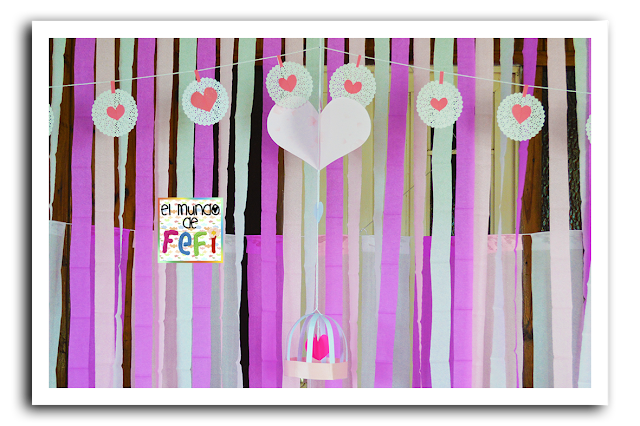 Como hacer cortinas de tiras de papel - Como hacer cortinas de tiras ...