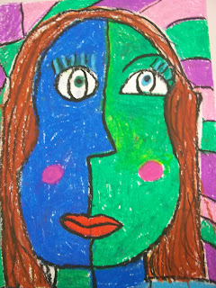 Art Kids Of Benavidez Elementary Self Portraits Picasso