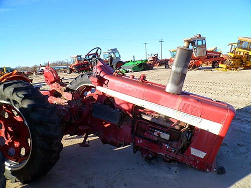 used International 826 tractor parts