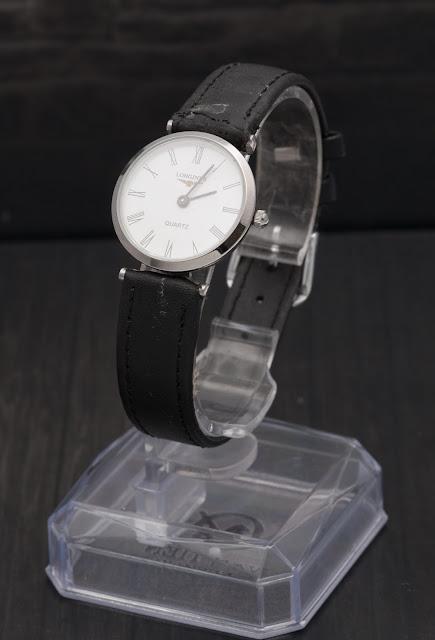 Đồng hồ nữ dây da bản nhỏ Longines