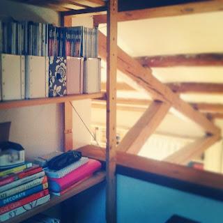 Un mini-studio improvvisato