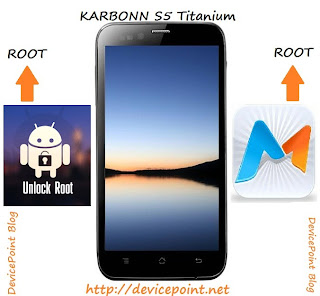 Root Karbonn S5 Titanium