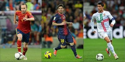 calon pemain sepak bola terbaik dunia 2012   AWALILAH