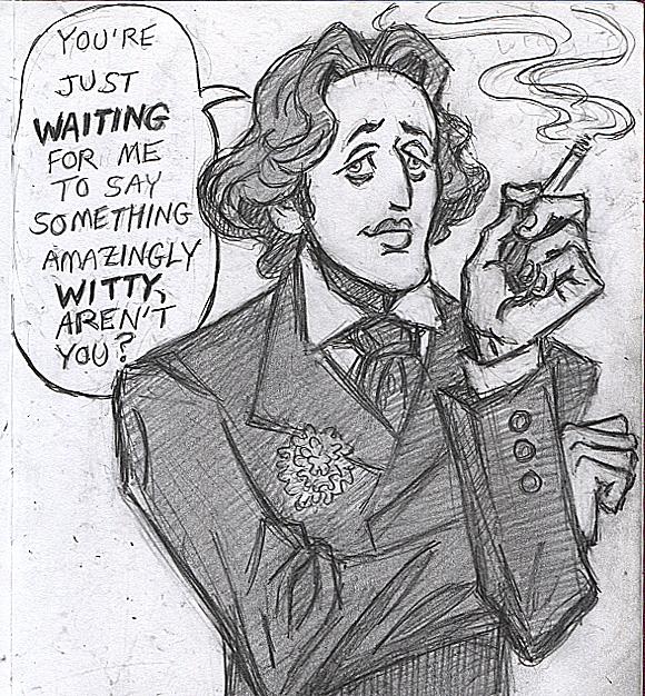 Pre Raphernalia Happy Birthday Oscar Wilde